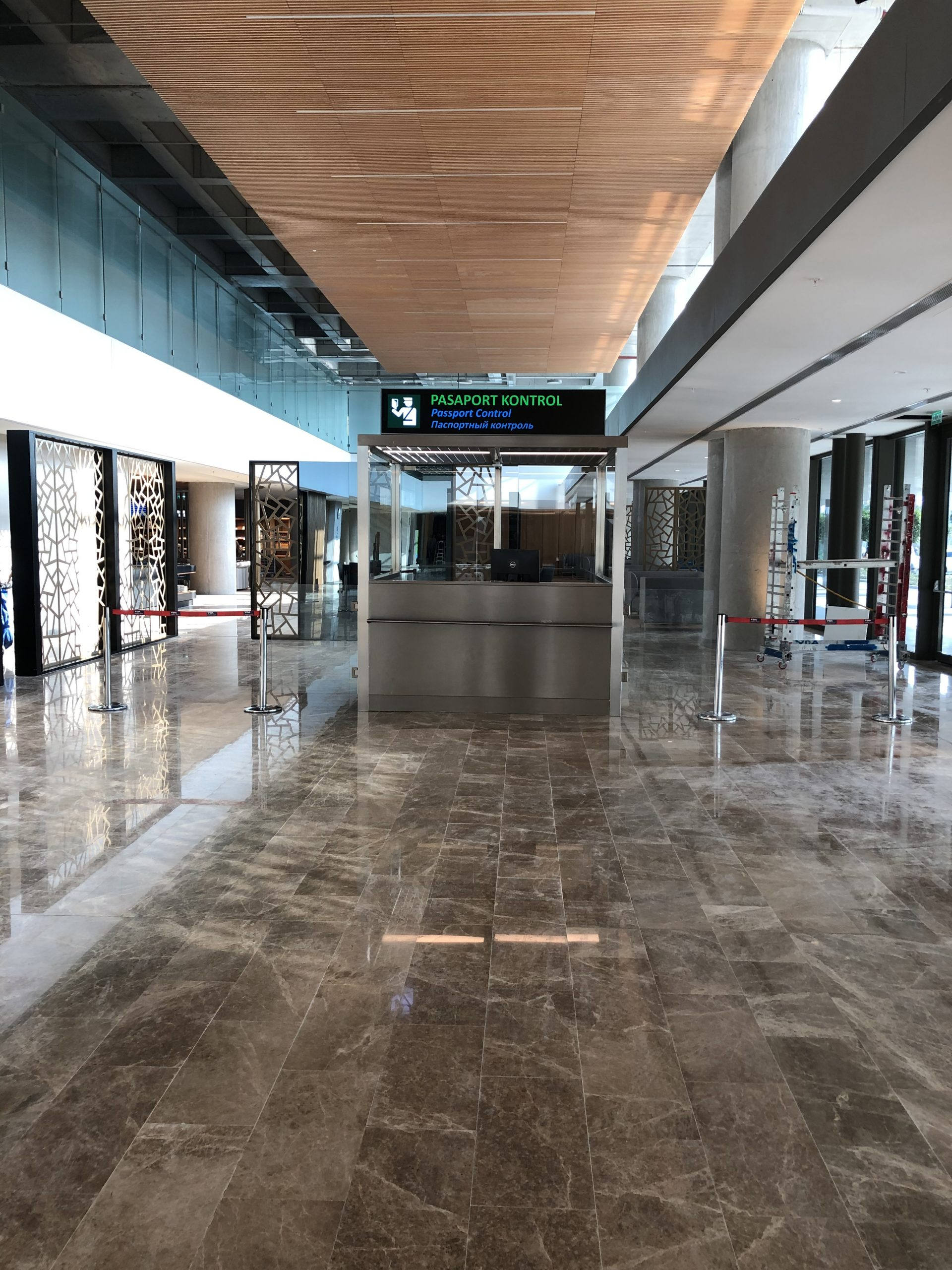 DALAMAN INTERNATIONAL AIRPORT / TURKEY – 2018